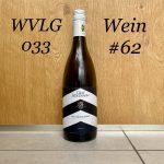 Wein #62: Graf Adelmann, Weißburgunder