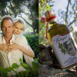 Megastar Sting mit seinem Olivenöl